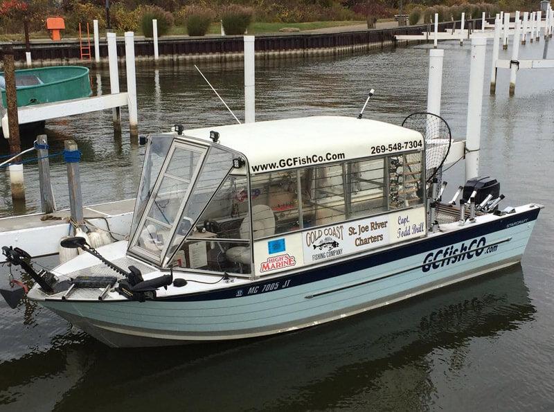 St joe river charters gold coast fishing company for St joseph river fishing